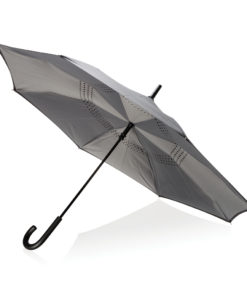 "23"" manual reversible umbrella grey P850.092"