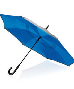 "23"" manual reversible umbrella blue P850.095"