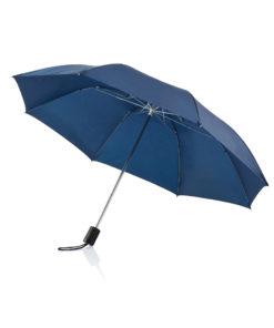 "Deluxe 20"" foldable umbrella blue P850.265"