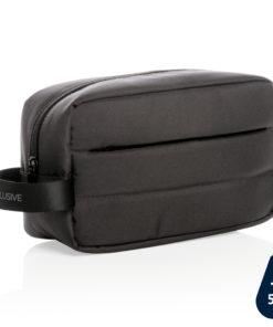 Impact AWARE™ RPET toiletry bag black P820.201