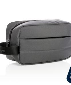 Impact AWARE™ RPET toiletry bag anthracite P820.202