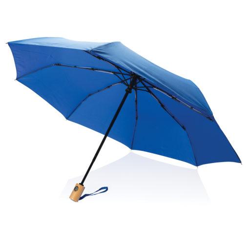"21"" auto open/close RPET umbrella blue P850.395"
