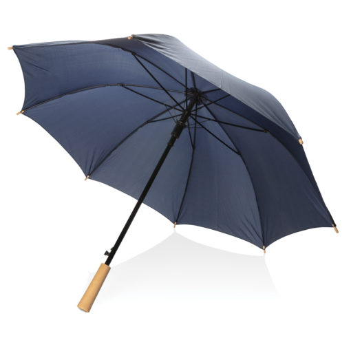 "23"" auto open storm proof RPET umbrella navy P850.400"