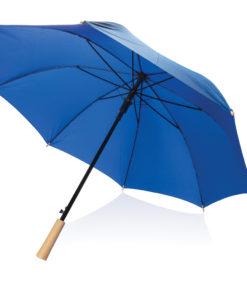 """23"""" auto open storm proof RPET umbrella blue P850.405"""