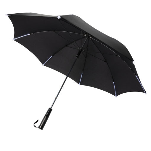 """23"""" manual open/close  LED umbrella black P850.421"""
