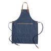 Deluxe canvas chef apron blue P262.825