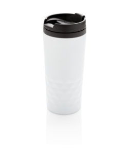 Geometric mug white P432.363