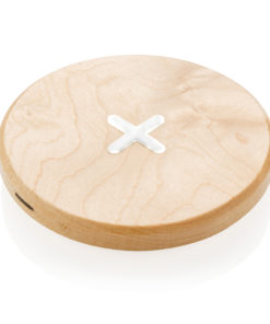 5W wood wireless charger brown P308.819