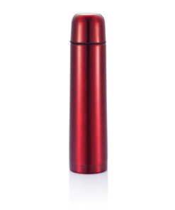Stainless steel flask red P430.104